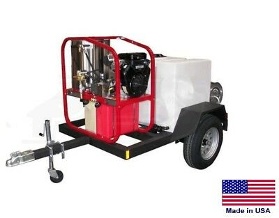 Pressure Washer Commercial - Hot Cold Steam - 3.5 Gpm - 4000 Psi - Honda