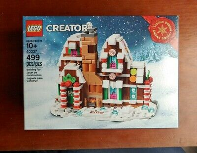 LEGO 40337 Limited Edition 2019 Christmas Gingerbread House