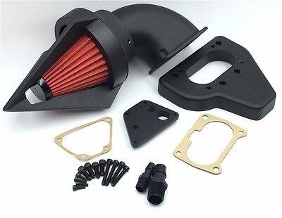 New Black Triangle Intake Spike Air Cleaner Kits For (2002-2009) Honda Vtx 1800