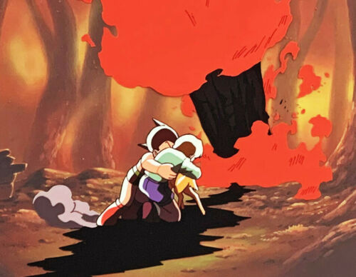 LARGE Astro Boy - Original Anime Animation Production Cel - Atom 111