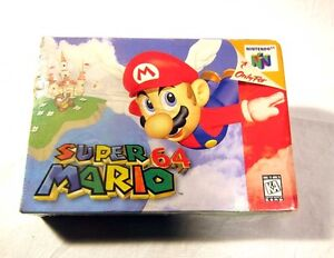 NEW SEALED Super Mario 64 Nintendo 64 Video Game 1996 N64 System NICE
