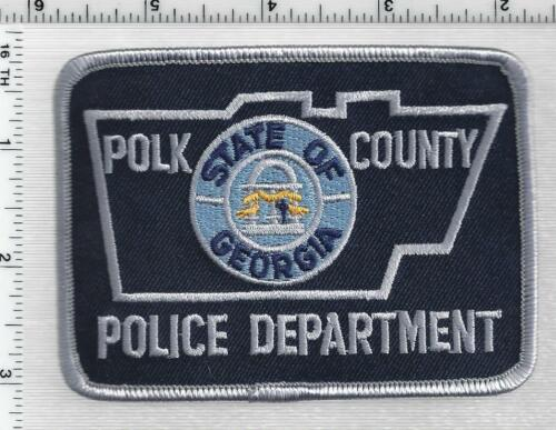 Polk County Police (Georgia) 2nd Issue Shoulder Patch