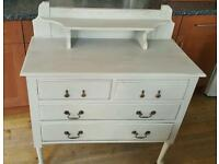 French country/shabby chic dressing table/console table.