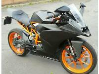 REDUCED!!! 2015 KTM RC125 - 12mths Mot - Faultless & Ready to Ride Away 👍