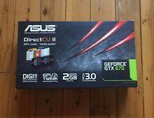 ASUS Nvidia GeForce GTX 670 DirectCU II 2GB Summer Hill Ashfield Area Preview