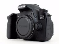 Canon EOS 60D DSLR camera body.