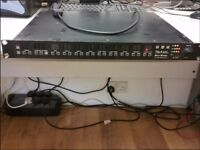 Mesa Boogie Triaxis Version II Guitar Tube Programmable Preamp Serial No. XT2640. PARTS/NOT WORKING
