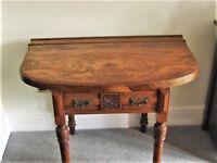 Attractive Hall table - Wallnut top