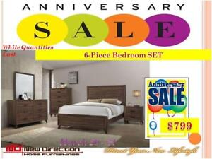New Direction Home Furnishings Anniversary Sale is On Now!! Shop Today & Save More!