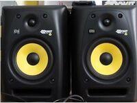 Pair of KRK Rokit 6 G3 speakers in VGC