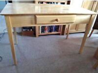 Stylish desk / table - with sliding platform