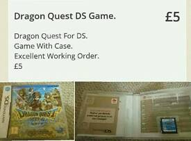 Dragon Quest DS Game