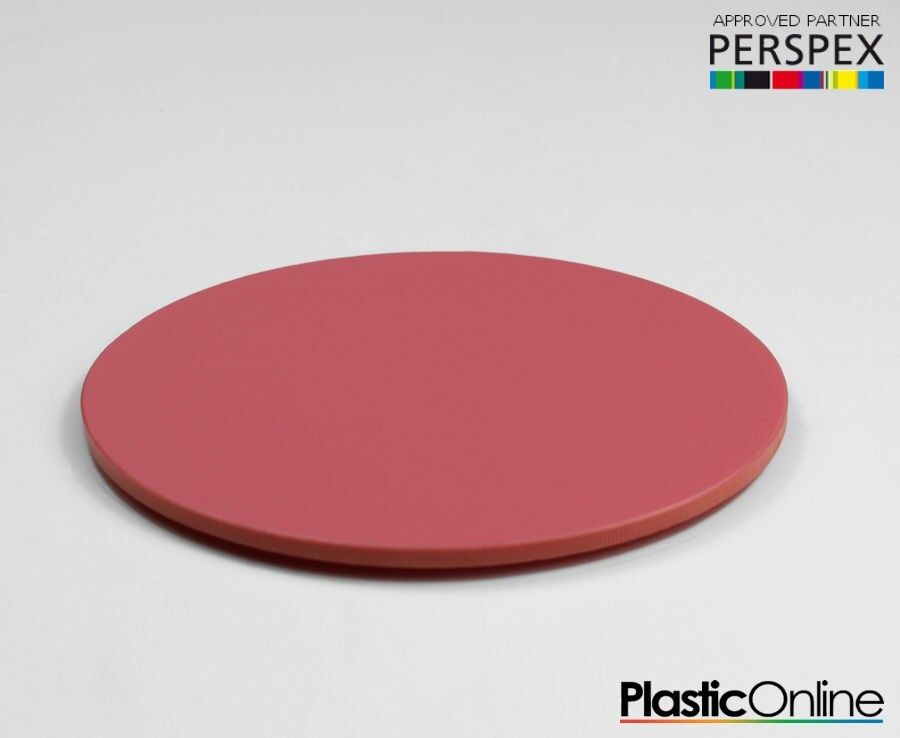 43b66c86ce5 Details about Laser Cut Plastic Circles Acrylic Discs Perspex 3mm Raspberry  Sherbet Pastel