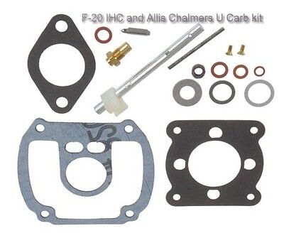 Carburetor Repairkit Allis Chalmers International Harvester U Uc F20 F30 Farmall