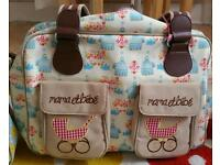 2 Yummy mummy pink lining changing bag for sale