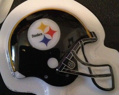 DecoPac 24 PITTSBURGH STEELERS CUPCAKE PICKS TOPPER TAILGATE BIRTHDAY PARTY NEW (Steelers Cupcake Toppers)