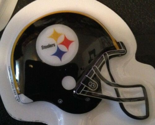 DecoPac 24 PITTSBURGH STEELERS CUPCAKE PICKS TOPPER TAILGATE BIRTHDAY PARTY NEW