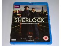 Sherlock Season One 1 Bluray DVD