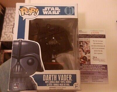 Dave Prowse signed Funko Pop Star Wars Darth Vader Autographed JSA COA Rare