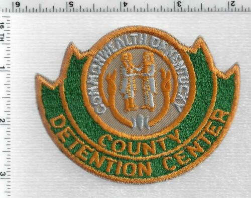 County Detention Center (Kentucky) 1st Issue Shoulder Patch