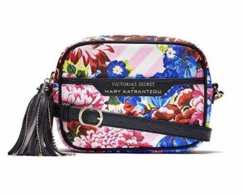Victoria's Secret Black Quilted Crossbody Bag Purse New