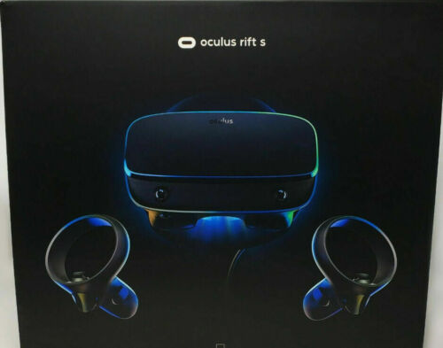 Oculus Rift S PC-Powered VR Gaming Headset with Controllers