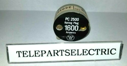 WESTINGHOUSE PC2500 1600A RATING PLUG ( Stock # -L 06 )