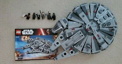 LEGO Star Wars Millennium Falcon(75105) Retired Minifigs & Instructions included