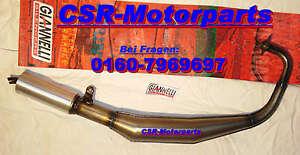 Tuning Auspuff Honda NSR 50 MBX MB 50 80 NS 1 75 Alu Dämpfer Giannelli AC08 HC04