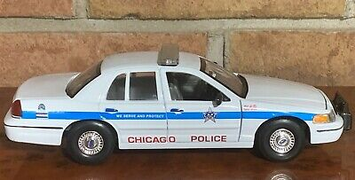 1999 Ford Crown Victoria Police Car Diecast 1:24 Scale Model Cars