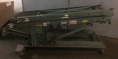 Hytrol Ba Portable Folding Boosting Belt Conveyor 150l X 45w X 36h - 14 Belt