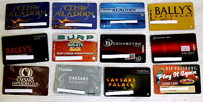 12 DIFFERENT CASINO BAR PLAYERS CLUB CARDS - #2