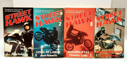 Street Hawk TV Series UK Paperback Book Collection- Your Choice of 4 or Set