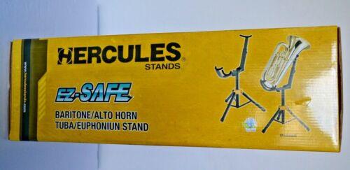 HERCULES DS552B Euphonium Stand/ Baritone/ Alto Horn Tuba. New in Box