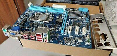 Gigabyte GA-H61M-S2V-B3 LGA 1155 H61 MicroATX Motherboard w/i3-2100 CPU & I/O