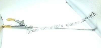 Laparoscopy Golden Needle Holder Curved Addler