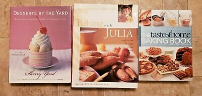 BAKING WITH JULIA - THE TASTE OF HOME BAKING BOOK - DESSERTS BY THE YARD