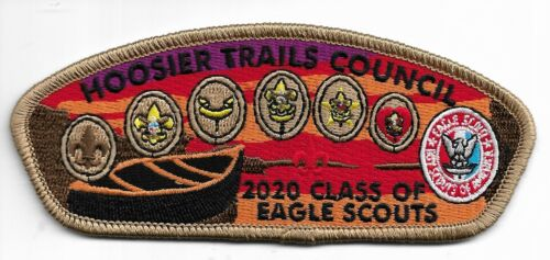 HOOSIER TRAILS COUNCIL * 2020 EAGLE SCOUT CSP * INDIANA * 100 MADE