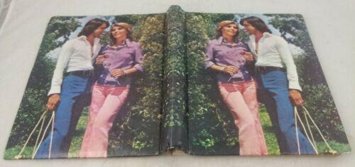 Photo Album vintage 70s new empty 1970s book coffee table shelf decor picture