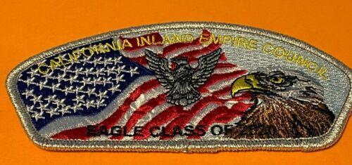 NESA CIEC LODGE 127 CAHUILLA INLAND EMPIRE COUNCIL 2020 EAGLE CLASS