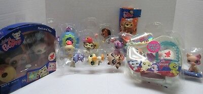 LITTLEST PET SHOP LOT OF 17 HALLOWEEN SPECIAL EDITIONS POSTCARD 1402 1348 + MORE