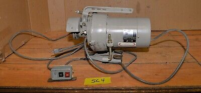 High Point Industrial Sewing Machine Clutch Motor 12 Hp 110 V Commercial Sc4