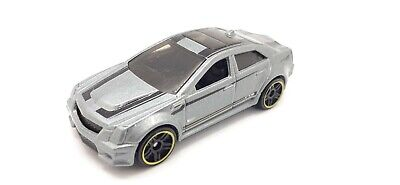 Hot Wheels Cadillac CTS-V (Grey) Kmart Exclusive HW Workshop Diecast Vehicle