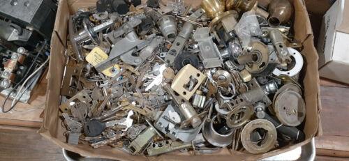 Locksmith Stuff 25 LBS Pull off parts lock cylinders Keys Hardware Screws Bolts
