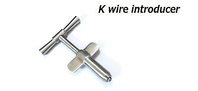 Orthopedic Introducer Inserter For K-wire Orthopedic Instruments