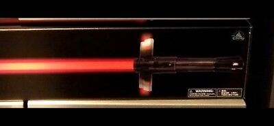 New Disney Parks Exclusive Star Wars Kylo Ren Lightsaber With Stand!
