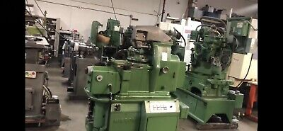 Mikron 102-05 Mps Gear Hobbing Machine With Bevel Gear Cutting Capability. Video