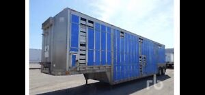 Live stock 48 feet Aluminum trailer