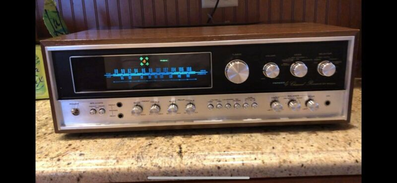 Pioneer QX 8000-A 4-Channel Receiver Good Working Condition 1972-1973