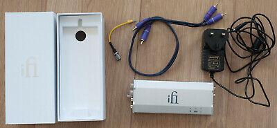 Ifi micro iPhono 2 Class A RIAA pre amp MM/MC Phono Stage in Excellent Condition